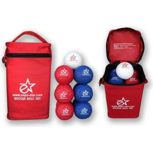 Boccia Competition Leather Balls by Podium 4 Sport