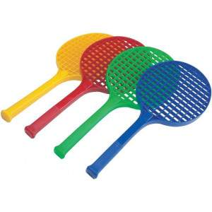 Slazenger Assorted Colours Mini Tennis Racquet Pack by Podium 4 Sport