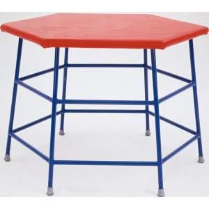 Padded Hexagonal Movement Table by Podium 4 Sport