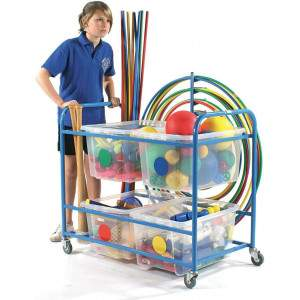 Multi-Purpose Equipment Trolley by Podium 4 Sport