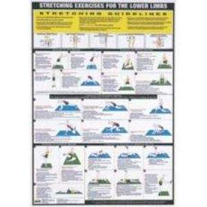 Stretching Charts by Podium 4 Sport