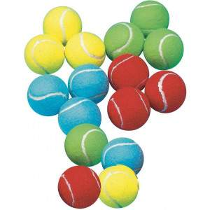 Coloured Tennis Balls by Podium 4 Sport