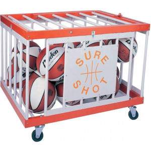 Steel Multi-Purpose Ball Cage by Podium 4 Sport