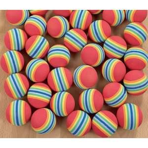 Rainbow Foam Balls by Podium 4 Sport
