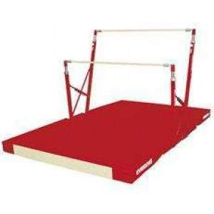 Gymnova A Bars With Integrated Mat-0