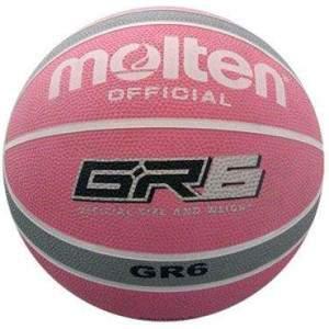 Molten BGR6 Pink Grey Basketball by Podium 4 Sport