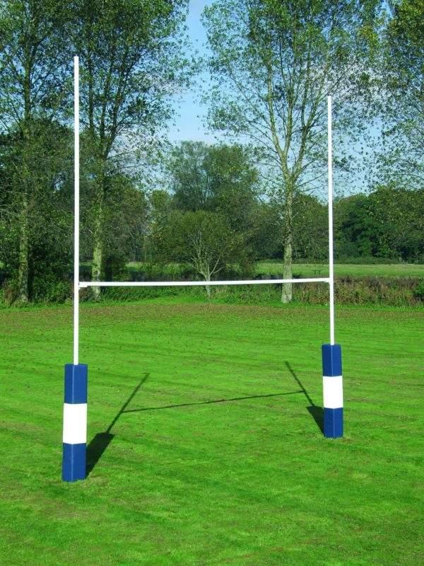 Harrod Hinged Heavy Duty Rugby Posts-0