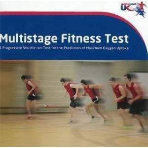 Multi Stage Fitness Test CD by Podium 4 Sport