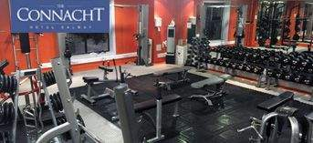 The Connacht Hotel, Active Fitness gym installation by Podium 4 Sport