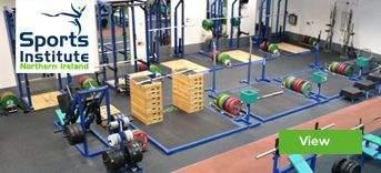 Sports Institute Northern Ireland installation by Podium 4 Sport