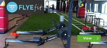 Flyefit Dublin gym installations by Podium 4 Sport