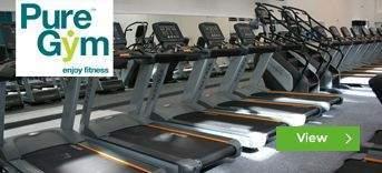 Pure Gym Northern Ireland gym installations by Podium 4 Sport