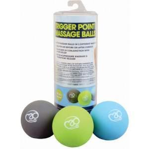 Fitness Mad Trigger Point Massage Ball Set by Podium 4 Sport