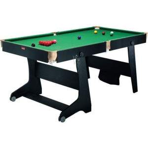 BCE 6FT Folding Snooker Table by Podium 4 Sport