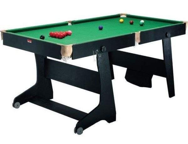 BCE 6FT Folding Snooker Table by Podium 4 Sport