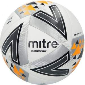 Mitre Ultimatch Max Football Size 5 by Podium 4 Sport
