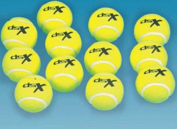 Practice Tennis Balls Pack of 12