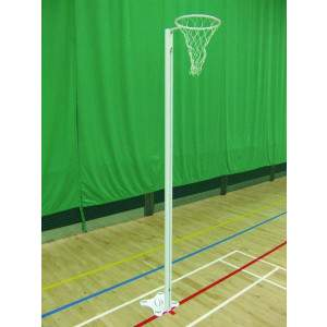 Harrod Floor Fixed International Netball Posts-0