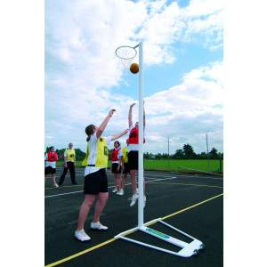 Harrods International Netball Posts - Freestanding by Podium 4 Sport