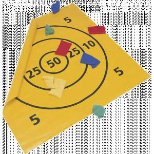Target Mat With 8 Beanbags by Podium 4 Sport