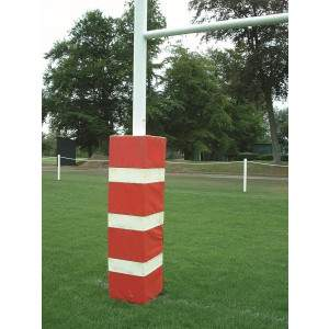 Harrod Multi Coloured Millennium Rugby Post Protectors-0