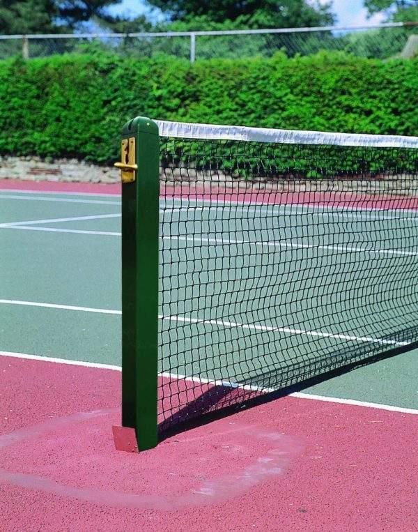 Harrod Aluminium 80mm Square Tennis Posts-0