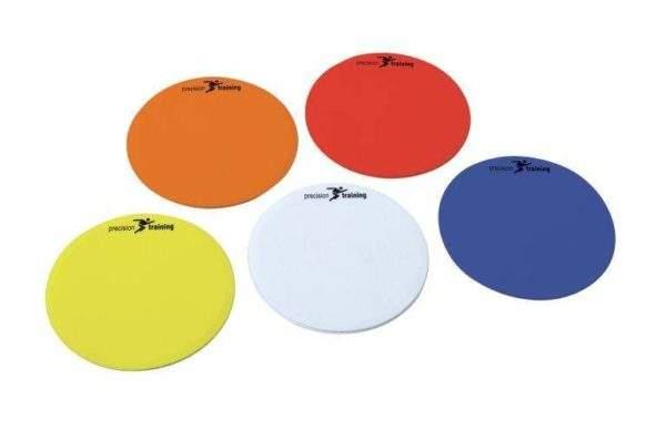 Precision Training Multi Colour Round Marker Discs-0