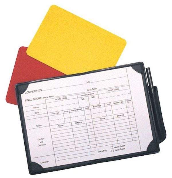 Precision Training Referees Note Book-0