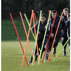 Training Boundary Poles by Podium 4 Sport