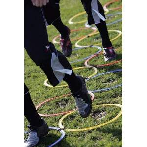 Precision Training Speed Agility Hoop Ladder-0