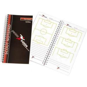 Precision Training A5 Football Slimline Scouts Notepad-0