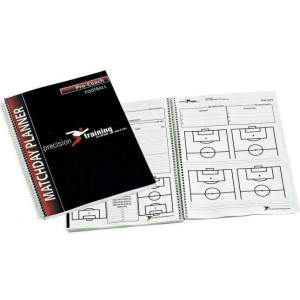 Precision Training A4 Football Match Day Planner-0