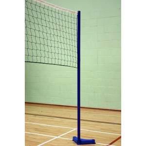 Harrod Floor Fixed VB4 Volleyball Set by Podium 4 Sport