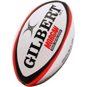 Gilbert Morgan Pass Developer Ball Size 5 by Podium 4 Sport