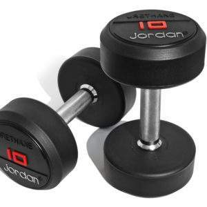 Jordan Urethane Dumbells Set by Podium 4 Sport