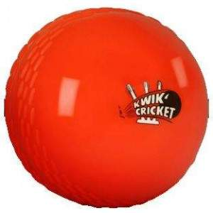 Kwik Cricket Ball Orange by Podium 4 Sport