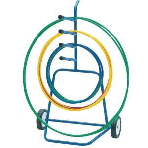 Mobile Hoop Carrier by Podium 4 Sport