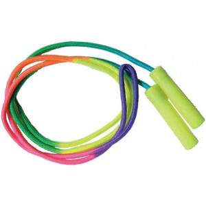 Rainbow Skipping Rope by Podium 4 Sport