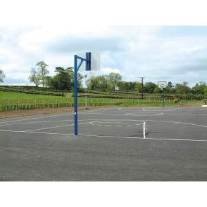 Harrod Heavy Duty Basketball Goals with Backboard by Podium 4 Sport