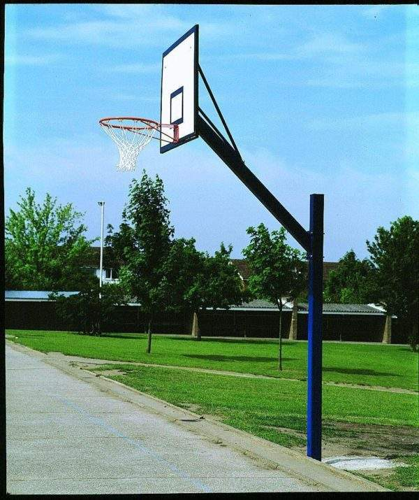 Harrod Cantilever Basketball Goals with Practice Board by Podium 4 Sport