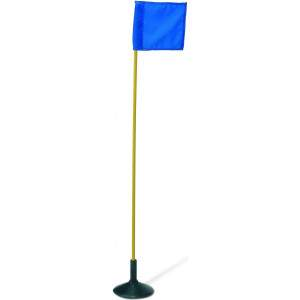 Harrod Flexible PVC Poles with Spike Yellow by Podium 4 Sport