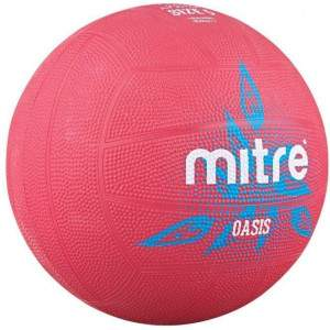 Mitre Oasis Netball Pink by Podium 4 Sport