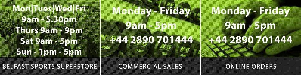 Opening Hours at Podium 4 Sport - Retail, Commercial and Online