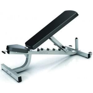 Matrix G1 Adjustable Incline Bench by Podium 4 Sport