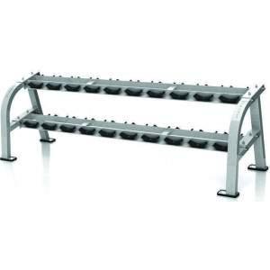 Matrix G1 10-Pair Dumbbell Rack by Podium 4 Sport