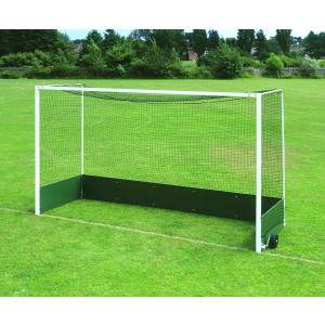Harrod Freestanding Steel Hockey Goal by Podium 4 Sport