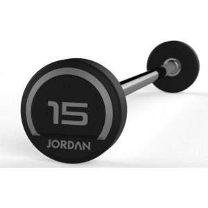 Jordan Premium Rubber Straight Barbell by Podium 4 Sport
