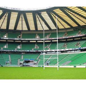 Harrod Hinged Millenium Rugby Posts by Podium 4 Sport