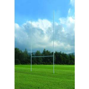 Harrod Aluminium Socketed Rugby Posts by Podium 4 Sport