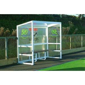 Harrod Socketed Aluminium Team Shelter 2.5m by Podium 4 Sport
